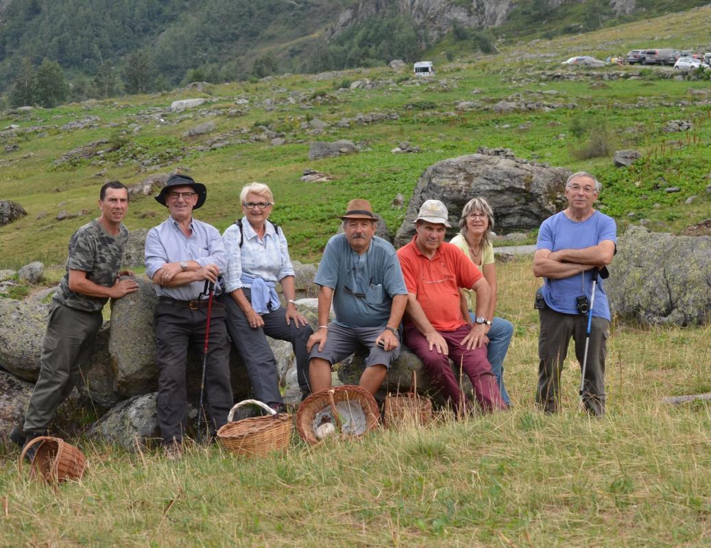 Groupe à1800 m
